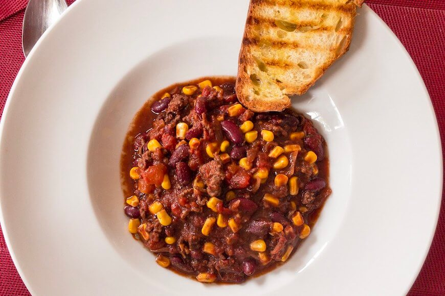 Chili con Carne for Large Family