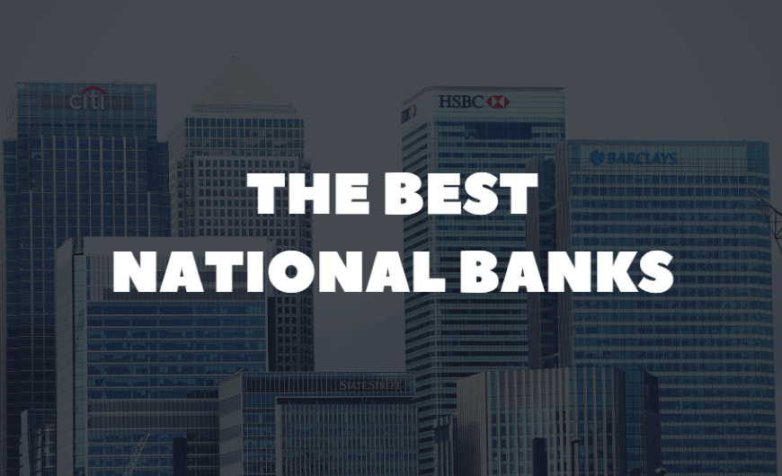 Best National Banks in America for 2020