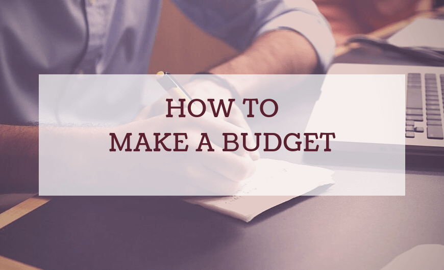 how to make a budget 1