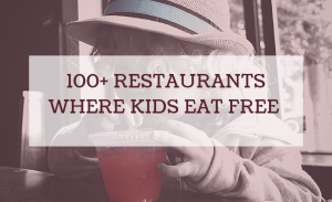 Restaurants Where Kids Eat Free Tonight