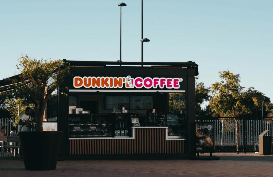 Halloween Dunkin' Donuts