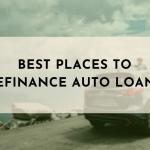best places to refinance auto loans