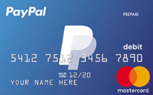 best prepaid debit cards paypal