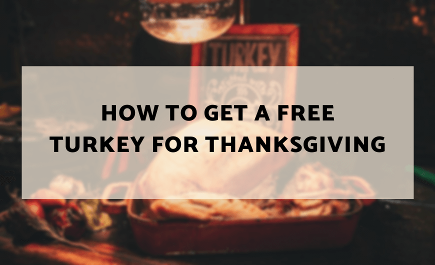 free turkey for thanksgiving