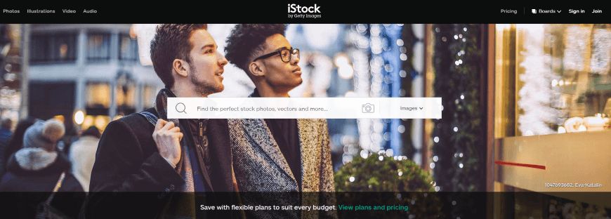 best places to sell photos online istock