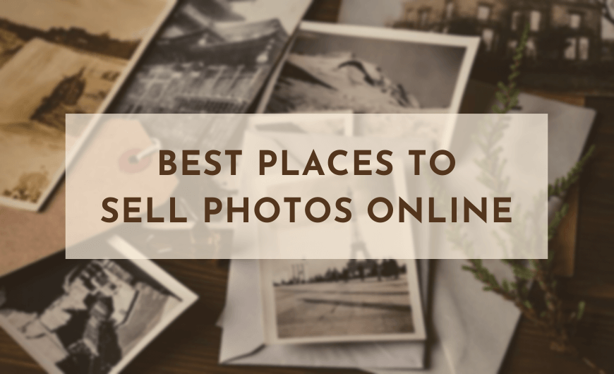 best places to sell photos online