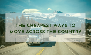 cheapest way to move across country