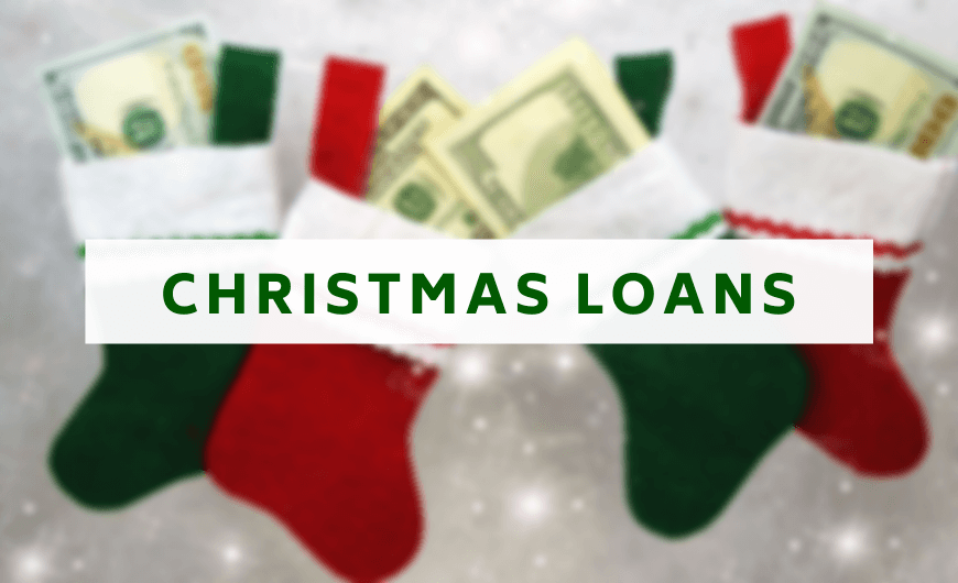 Small Christmas Loans for Bad Credit