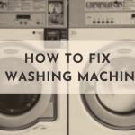 Washing Machine Won't Spin