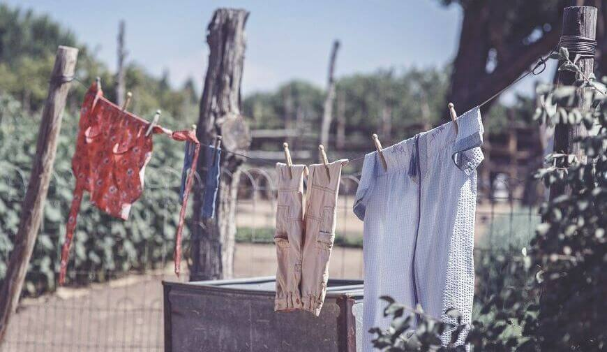 Reducing Electricity Bills With Hanging Dry Clothes
