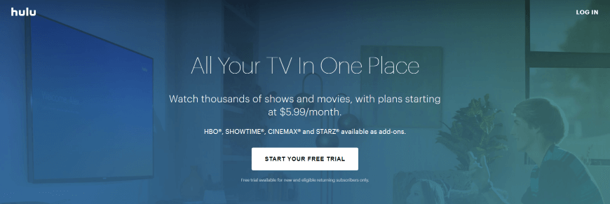 alternatives to cable tv hulu