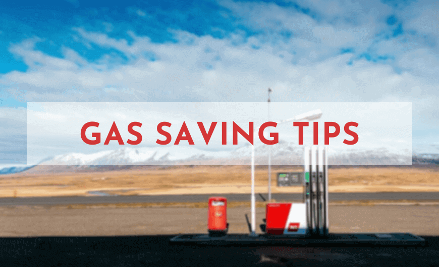Gas Saving Tips