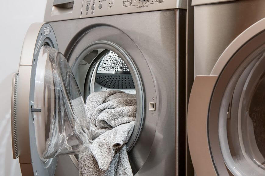 how to save money on utilities washing machine