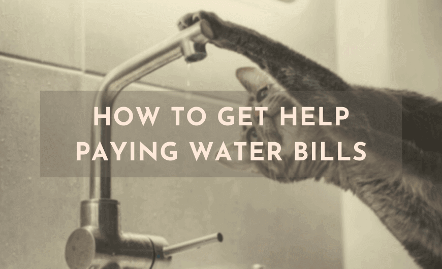 help paying water bills