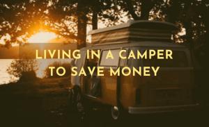 living in a camper