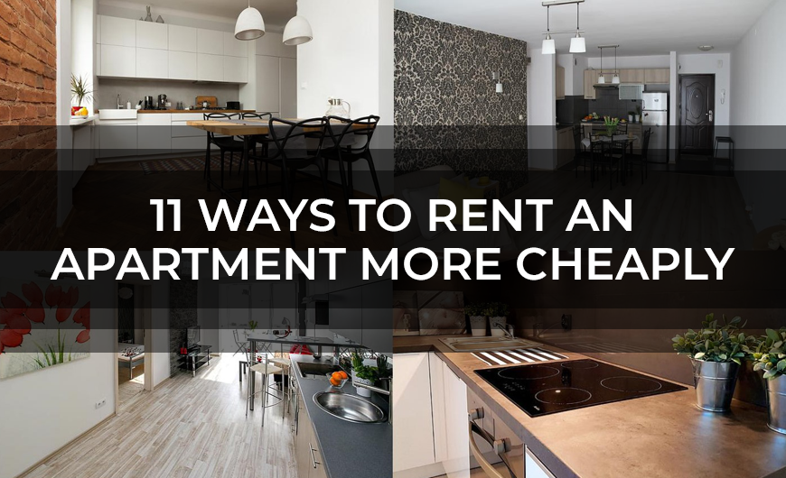 11 Ways to Rent an Apartment More Cheaply