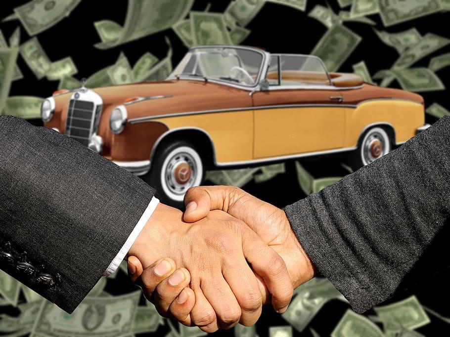 haggle when buying cheap car