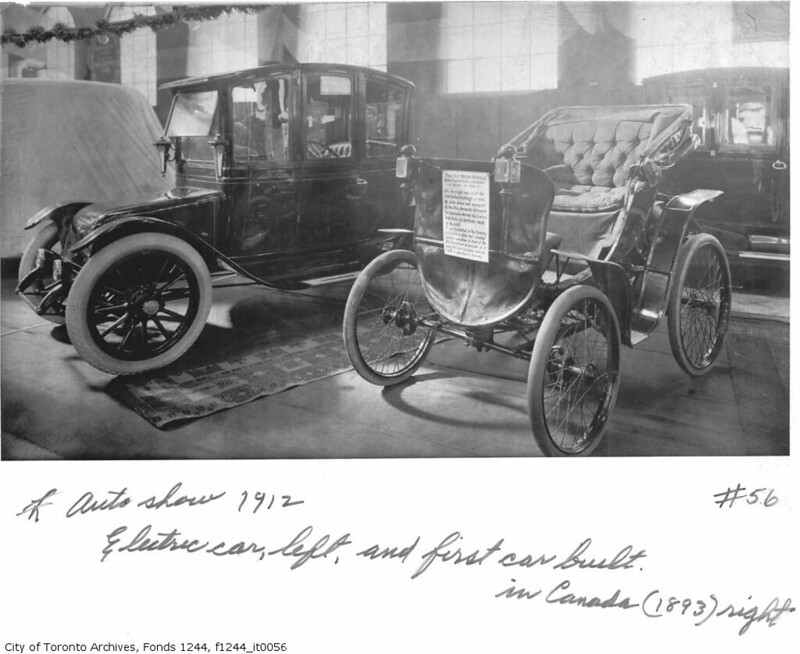 electric cars have been around longer than you think