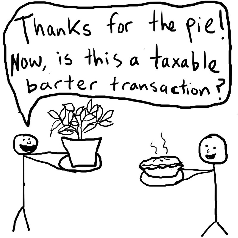 barter transactions are taxable