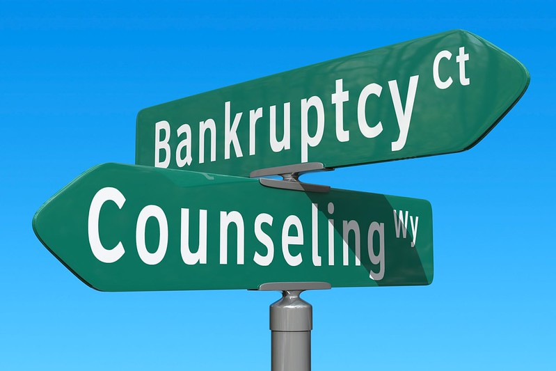 credit counseling prior to declaring bankruptcy