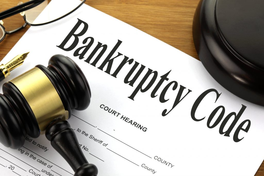 two legal forms of personal bankruptcy